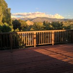 deck and sun